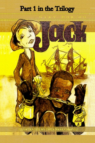 Inga Shalvashvili's cover illustration for my soon-to-be-published novel, Jack